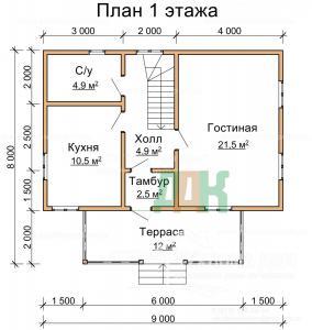 ДБ-77 Первый этаж