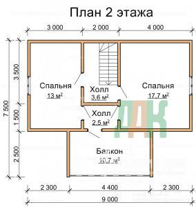 ДБ-77 Второй этаж